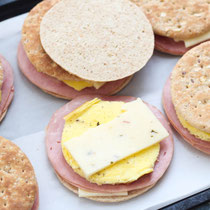 Easy freezer-friendly breakfast sandwiches recipe