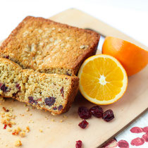 Vegan cranberry-orange oatmeal bread recipe