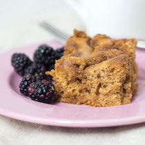 healthy cinnamon-buttermilk coffee cake recipe