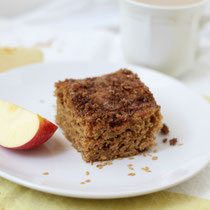 spiced apple-cardamom coffee cake