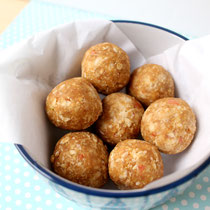 Apple peanut butter snack bites recipe