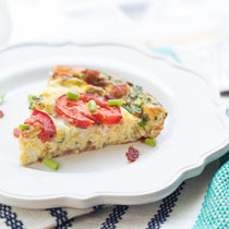 BLT frittata recipe