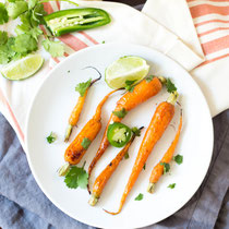 jalapeno-lime honey glazed carrots recipe