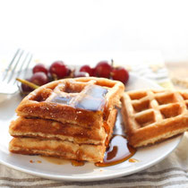 easy freezer friendly oatmeal waffles recipe
