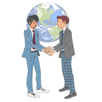 地球環境問題学ぶ高校生の交流