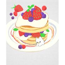 ホットケーキとおばけ猫