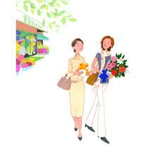 花屋の買物