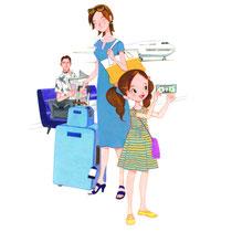 旅行家族の両替