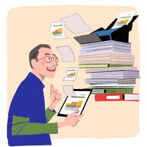 書類デジタル化