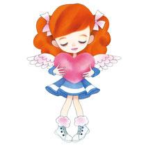 ハートの天使