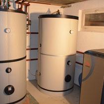 Einbau einer Wasser-Wärmepumpe mit Grundwasserpumpe in Münsingen