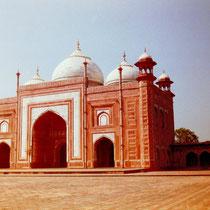 Versammlungshall Taj Mahal, Agra