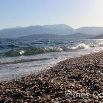 Wellen am Mittelmeer  - Fotografie Ines Dombek