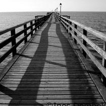 Steg an der Ostsee  - Fotografie Ines Dombek