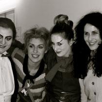 Tamara Klivadenko (Hexe), Sirin Kilic (Hänsel) Marysol Schalit (Taumännchen), Sara Hershkowitz (Gretel)