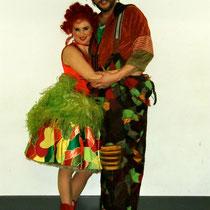 Martin Kronthaler (Papageno) Marysol Schalit (Papagena)