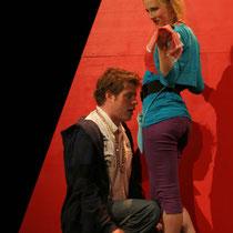 Roger Bucher (Bastiano) Marysol Schalit (Checca)