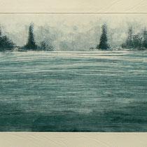Untitled - Monotype - 25 x 17 cm