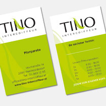Tino Intercoiffeur - frische Markenauftritt eines rennomierten Unternehmens aus Perchtoldsdorf
