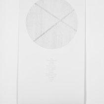 Eau d´Issey, 2014, Bleistift auf Papier, 75x150cm