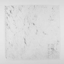 Tracce 1, 2014, Bleistift auf Papier, 150x150cm