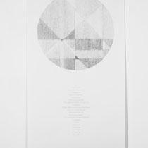 Terre d´Hermes, 2014, Bleistift auf Papier, 75x150cm