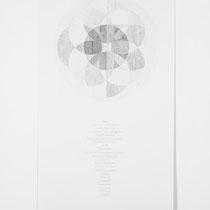 Champs Elysees, 2014, Bleistift auf Papier, 75x150cm