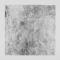 Tracce 2, 2014, Bleistift auf Papier, 150x150cm