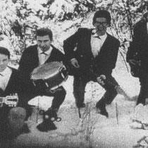 THE STARFIGHTERS - Rijen  Frans Laarhoven sologitaar Cees Laarhoven slaggitaar/zang  Johan Vermeeren basgitaar  Piet Akkermans - drums