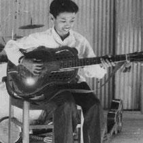 Andy in 1948 al op de 'solo toer'