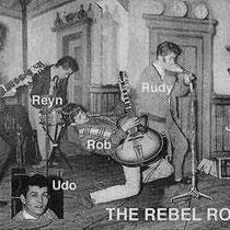 THE REBEL ROCKERS - Den Haag  Jaap Berkhout: sologitaar. Rudy Racz: zang. Reyn Rozenberg: drums.  Rob Kraneveld: slaggitaar.  Jacques Moningka: basgitaar. Udo de Jong: zang.