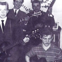THE ROCKING SWALLOWS (Dordrecht) 1960-1966 Hans van Kempen (lead gt.) Jan Verhagen (rhythm gt.) to The Sparks (Bergen op Zoom) Gerrit Verwey (bass gt.) † Frits van Kempen (drums
