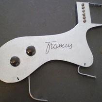 Ook Framus had zo'n slagplaat setje.