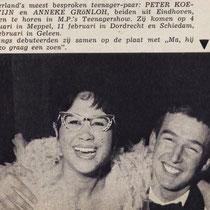 Muziek Parade februari 1961