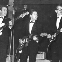 RENÉ NODELIJK Hoewel René in de Rocking Sensation Boys op een Egmond speelde, heeft hij die periode -héél verstandig- kort gehouden. Al vrij snel gebruikten de Alligators de Duitse Framus gitaren, die een stuk beter klonken en speelden. (Alligators Dance,