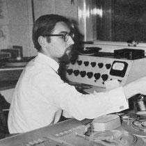 Karel van der Woerd technicus bij Veronica