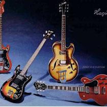 Hagström was een producent van muziekinstrumenten in Älvdalen, Zweden. Het bedrijf begon bij oprichting in 1925 met het importeren van accordeons. Het bedrijf is vooral bekend geworden door de bouw van elektrische gitaren en versterkers.