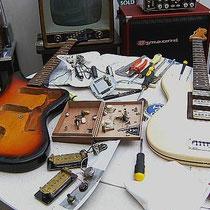 """Het restaureren en """"customising"""" van wat oudjes"""