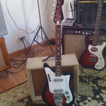 1960′s Galanti Jetstar Electric Guitar