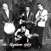 THE RAPTURES - Leiden  Jaap de Vries (drums), Jerry Steenstra ToussaintBasguitar)., Bud Buddenberg (Lead guitar)  Loek Das (Guitar)