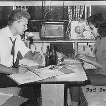 Manager René (Nappie) hield de boekhouding nauwkeurig bij , omdat zijn secretaresse niet aanwezg was nam Ilse deze taak over (met dank aan Ilse Uchtmann en Reggy Tielman)