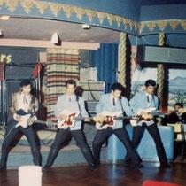 Palais De Danse 1965 De 'werkplek' voor de komende tijd  Ze traden daar met groot succes op in de maanden juli en augustus.