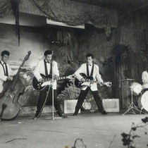 De Tielman Brothers speelden op de Expo slechts twintig minuten maar jaagden in die korte tijd menig ouder de stuipen op het lijf