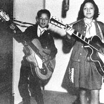 Ook een broertje en zusje van Lydia, 'Renate en Renaldo', namen een plaatje op,  'Be al long time gone' met als b-kant 'Dont make me go' op het Imperial label