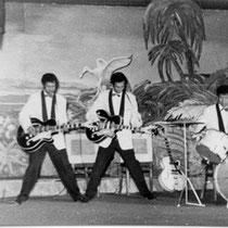 De Tielman Brothers konden zich toentertijd (1959) al topklasse gitaren veroorloven en speelden op de Gibson Les Paul, nadat ze daarvoor korte tijd op Egmond (Miller) hadden gespeeld.