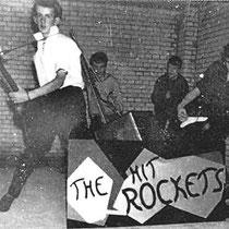 THE HIT ROCKETS - Hilversum  vlnr Martin Dubbeldam, Wim Ledel,  Eric Karsemeyer, Kees van Zijtveld