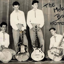 THE MELODY BOYS - Krommenie  Rob Bruyn - gitaar Henk Robijn - gitaar Klaas Schuitemaker - basgitaar Henk Borstlap - drums