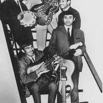 THE BOYS - Moordrecht  John Palyama Fred Latumeten,  Albert Tahapari,  Wim Manhutoe.