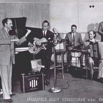 Eddy Christiani speelde al heel vroeg op ee Famus gitaar