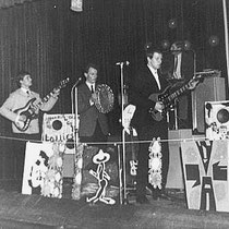 THE LOLLIES - 's Gravenland  Vlnr Lammert Wallenburg, Henk Griffioen, Bruin Wallenburg,  Harry van Eyden